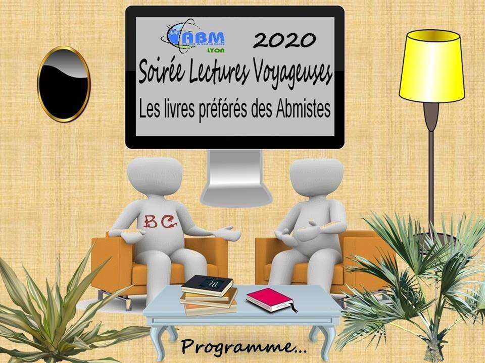 SOIREE LECTURES 2020 PROGRAMME